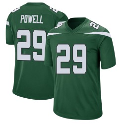 Game Men's Bilal Powell New York Jets Nike Jersey - Gotham Green