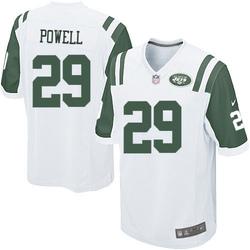 Game Men's Bilal Powell New York Jets Nike Jersey - White