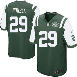 Game Men's Bilal Powell New York Jets Nike Team Color Jersey - Green