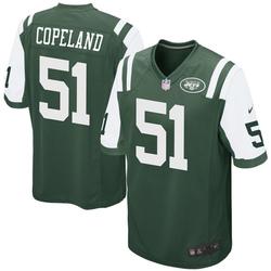 Game Men's Brandon Copeland New York Jets Nike Team Color Jersey - Green