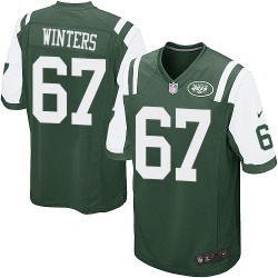 Game Men's Brian Winters New York Jets Nike Team Color Jersey - Green
