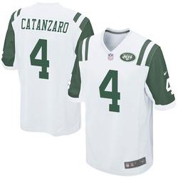 Game Men's Chandler Catanzaro New York Jets Nike Jersey - White