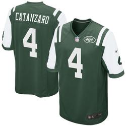 Game Men's Chandler Catanzaro New York Jets Nike Team Color Jersey - Green