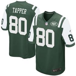 Game Men's Charles Tapper New York Jets Nike Team Color Jersey - Green
