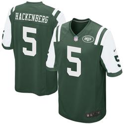 Game Men's Christian Hackenberg New York Jets Nike Team Color Jersey - Green