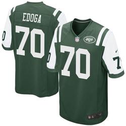 Game Men's Chuma Edoga New York Jets Nike Team Color Jersey - Green