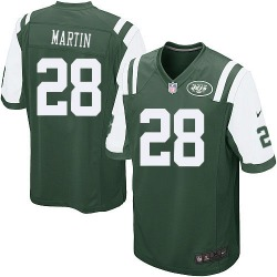 Game Men's Curtis Martin New York Jets Nike Team Color Jersey - Green