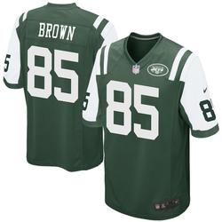 Game Men's Daniel Brown New York Jets Nike Team Color Jersey - Green