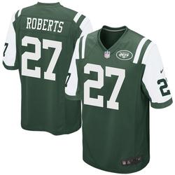 Game Men's Darryl Roberts New York Jets Nike Team Color Jersey - Green