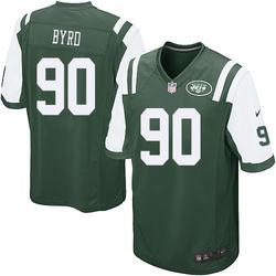 Game Men's Dennis Byrd New York Jets Nike Team Color Jersey - Green