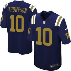 Game Men's Deonte Thompson New York Jets Nike Alternate Jersey - Navy Blue