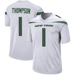Game Men's Deonte Thompson New York Jets Nike Jersey - Spotlight White
