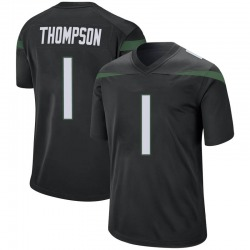 Game Men's Deonte Thompson New York Jets Nike Jersey - Stealth Black