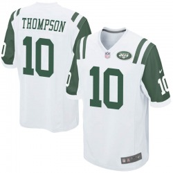 Game Men's Deonte Thompson New York Jets Nike Jersey - White