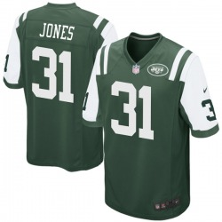 Game Men's Derrick Jones New York Jets Nike Team Color Jersey - Green