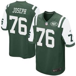Game Men's Dieugot Joseph New York Jets Nike Team Color Jersey - Green