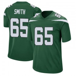 Game Men's Eric Smith New York Jets Nike Jersey - Gotham Green