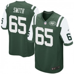 Game Men's Eric Smith New York Jets Nike Team Color Jersey - Green