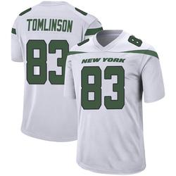 Game Men's Eric Tomlinson New York Jets Nike Jersey - Spotlight White