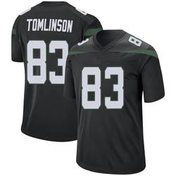 Game Men's Eric Tomlinson New York Jets Nike Jersey - Stealth Black