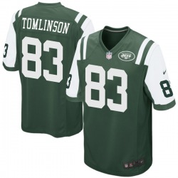 Game Men's Eric Tomlinson New York Jets Nike Team Color Jersey - Green