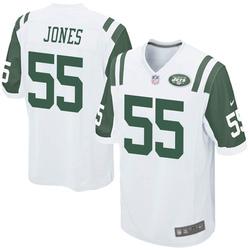 Game Men's Fredrick Jones New York Jets Nike Jersey - White