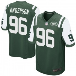 Game Men's Henry Anderson New York Jets Nike Team Color Jersey - Green
