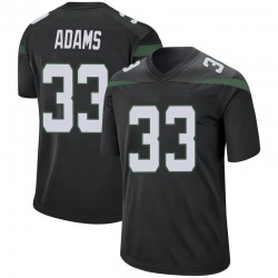 Game Men's Jamal Adams New York Jets Nike Jersey - Stealth Black