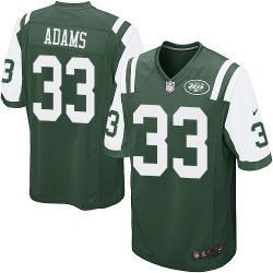 Game Men's Jamal Adams New York Jets Nike Team Color Jersey - Green