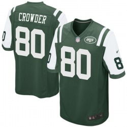 Game Men's Jamison Crowder New York Jets Nike Team Color Jersey - Green