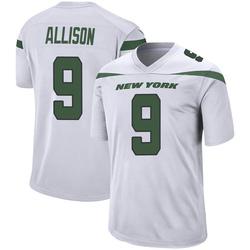Game Men's Jeff Allison New York Jets Nike Jersey - Spotlight White