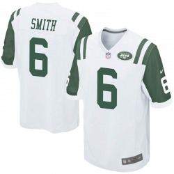 Game Men's Jeff Smith New York Jets Nike Jersey - White