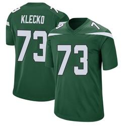 Game Men's Joe Klecko New York Jets Nike Jersey - Gotham Green