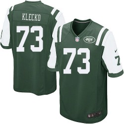 Game Men's Joe Klecko New York Jets Nike Team Color Jersey - Green