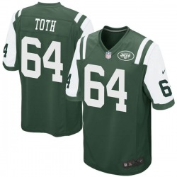 Game Men's Jon Toth New York Jets Nike Team Color Jersey - Green