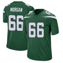 Game Men's Jordan Morgan New York Jets Nike Jersey - Gotham Green