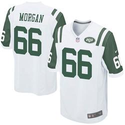 Game Men's Jordan Morgan New York Jets Nike Jersey - White