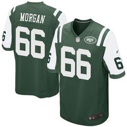Game Men's Jordan Morgan New York Jets Nike Team Color Jersey - Green