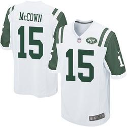 Game Men's Josh McCown New York Jets Nike Jersey - White