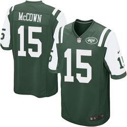 Game Men's Josh McCown New York Jets Nike Team Color Jersey - Green
