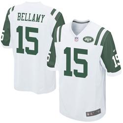 Game Men's Joshua Bellamy New York Jets Nike Jersey - White