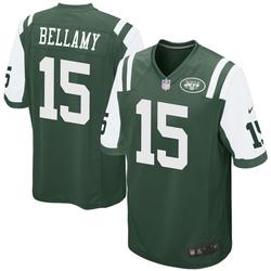 Game Men's Joshua Bellamy New York Jets Nike Team Color Jersey - Green