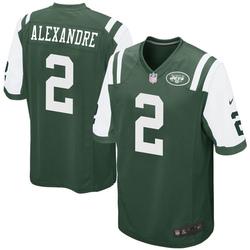 Game Men's Justin Alexandre New York Jets Nike Team Color Jersey - Green