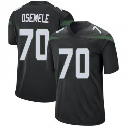 Game Men's Kelechi Osemele New York Jets Nike Jersey - Stealth Black