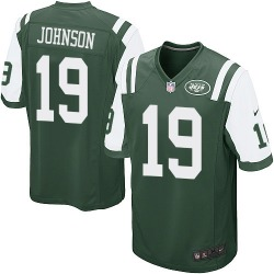 Game Men's Keyshawn Johnson New York Jets Nike Team Color Jersey - Green