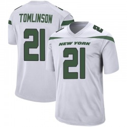 Game Men's LaDainian Tomlinson New York Jets Nike Jersey - Spotlight White