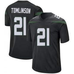 Game Men's LaDainian Tomlinson New York Jets Nike Jersey - Stealth Black
