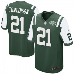 Game Men's LaDainian Tomlinson New York Jets Nike Team Color Jersey - Green