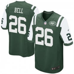 Game Men's Le'Veon Bell New York Jets Nike Team Color Jersey - Green