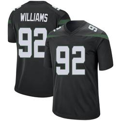 Game Men's Leonard Williams New York Jets Nike Jersey - Stealth Black